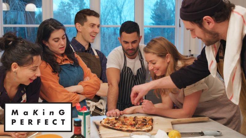 Watch Making Perfect   Bon Appétit Cooks the Perfect Pizza   Bon ...