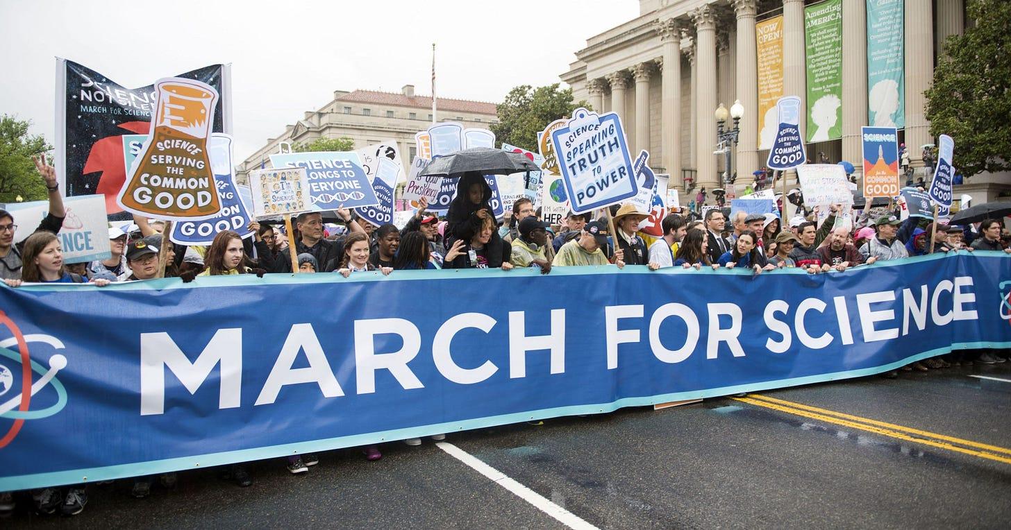 Image result for scientists protest philadelphia