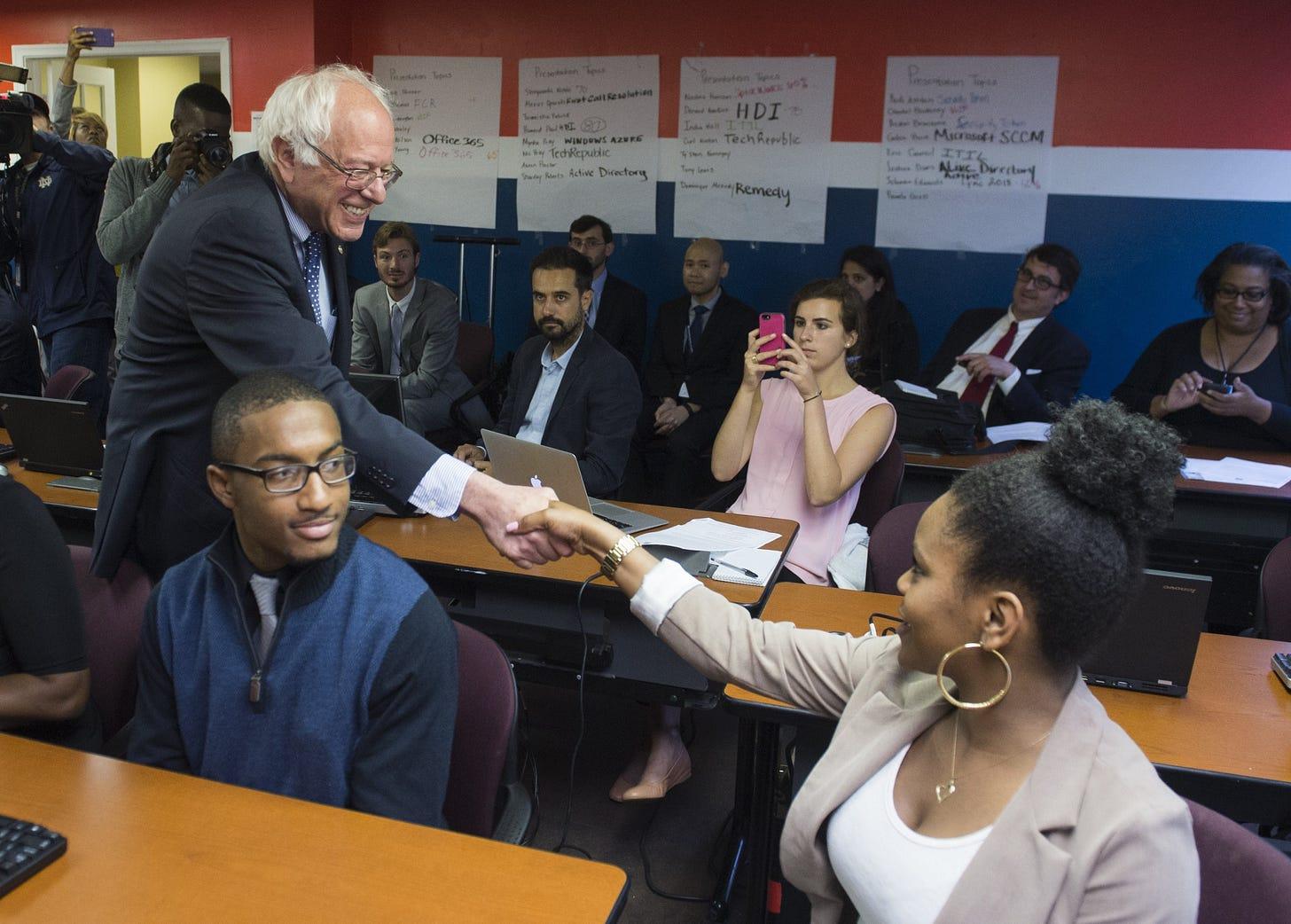 Image result for black voters Sanders