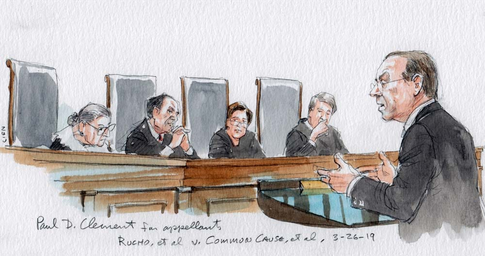 Image result for rucho v common cause