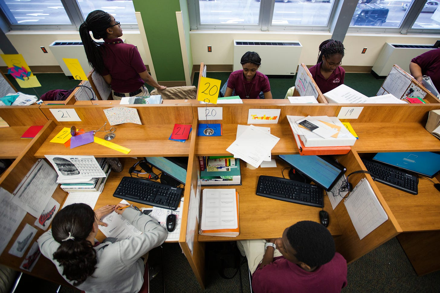 Image result for charter schools black classrooms