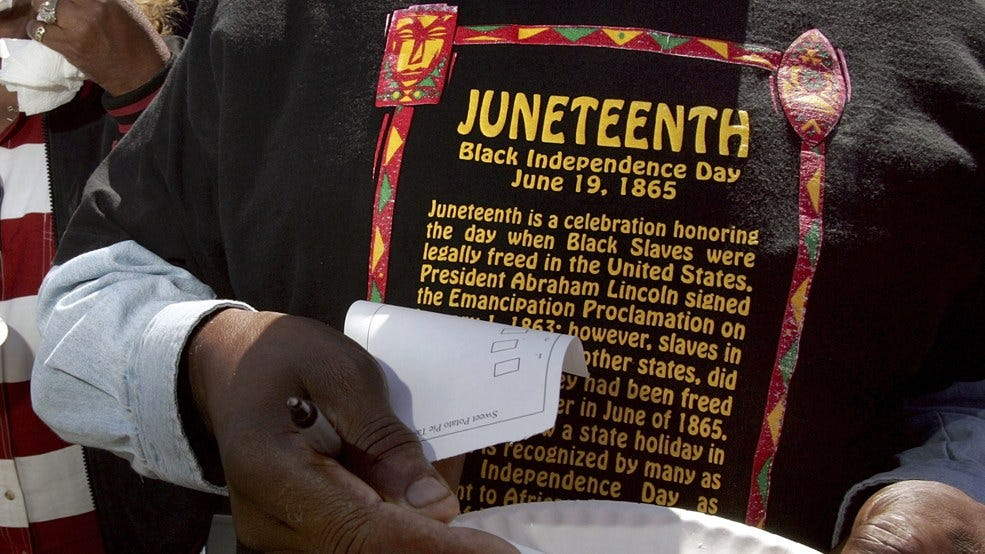 Image result for juneteenth 2019