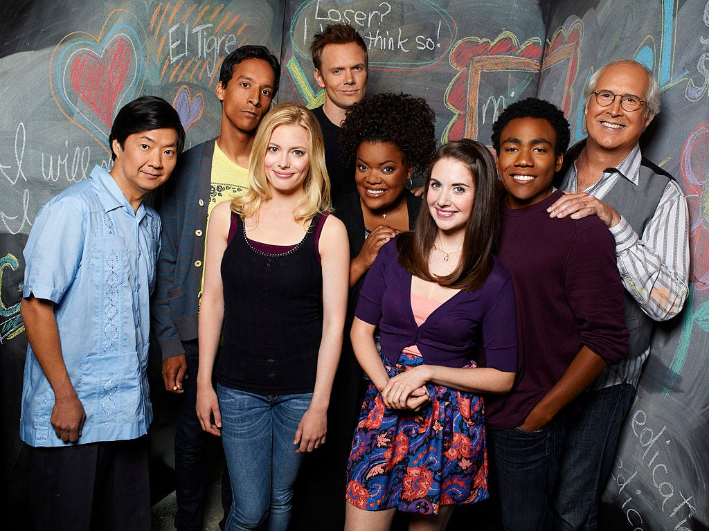 Why the 'Community' Cast Left Donald Glover Out of Their Group Chat