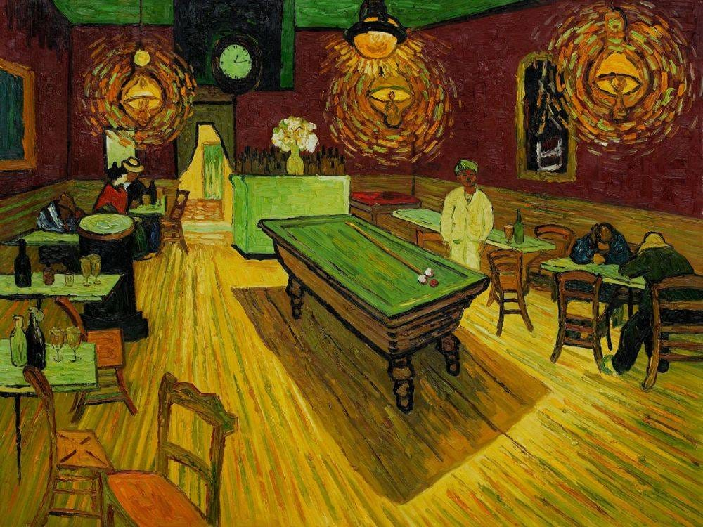 Image result for the night cafe van gogh
