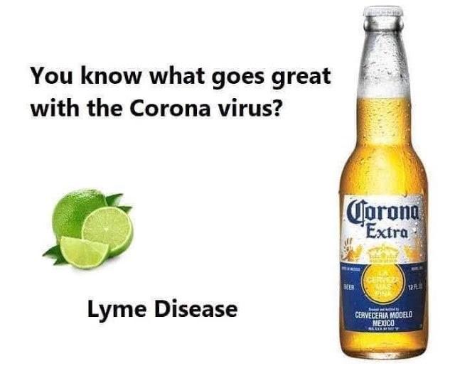 Image result for corona beer virus meme