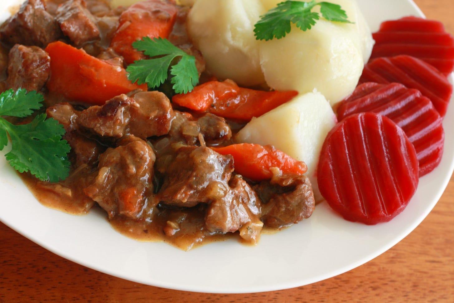 sweedish beef stew