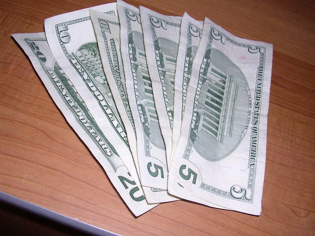 Image result for $60 cash