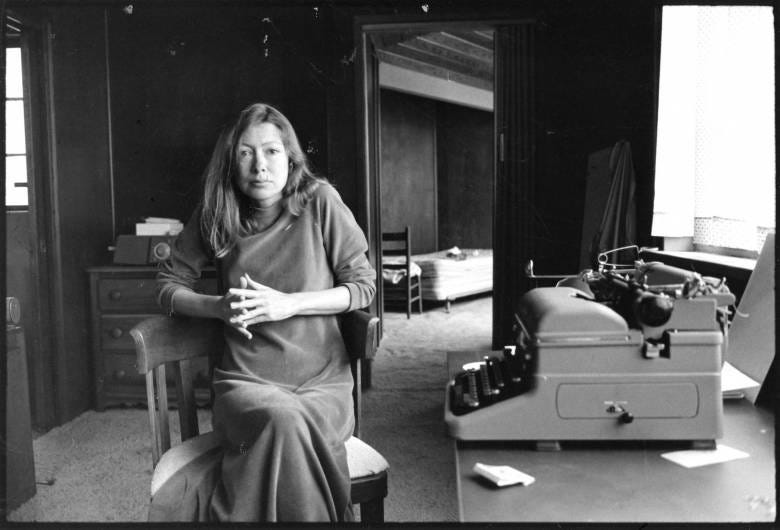 Joan Didion: Living and Writing Between L.A. and New York City ...