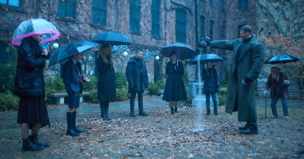Image result for umbrella academy tv