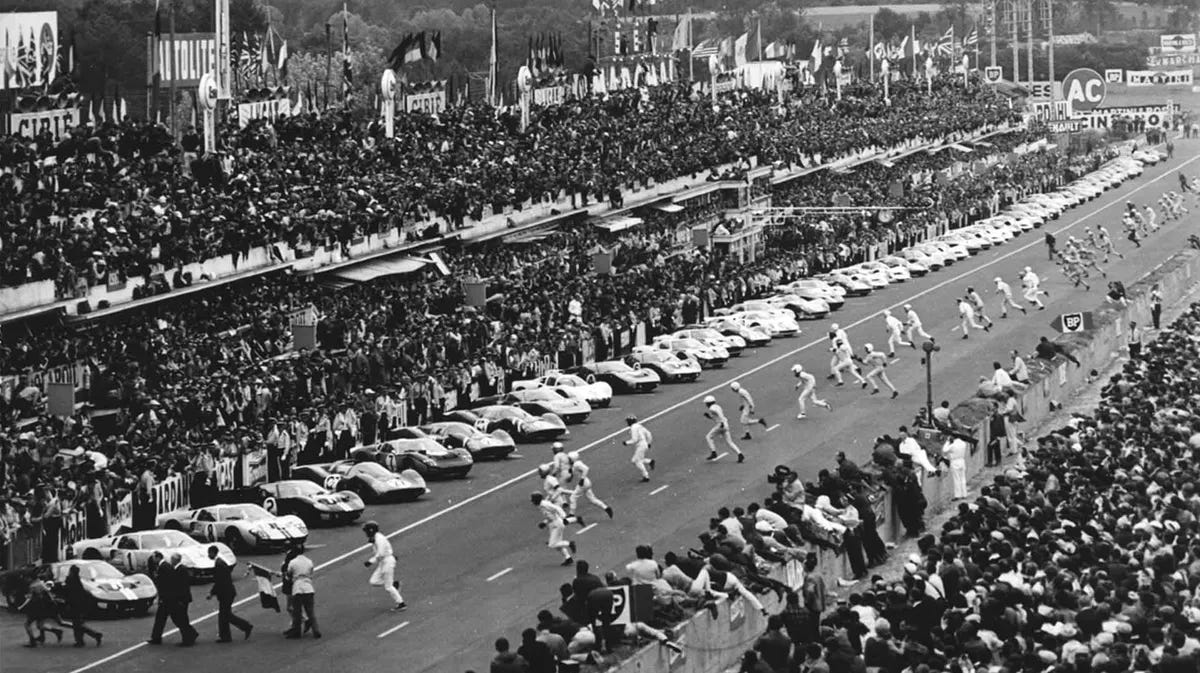 Image result for 24 hours of le mans 1966