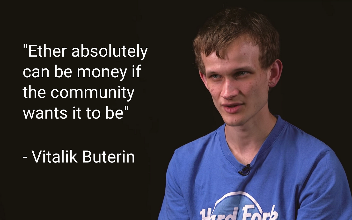 Vitalik Butterin, co-fundador do Ethereum