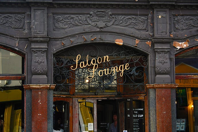 Saloon Lounge