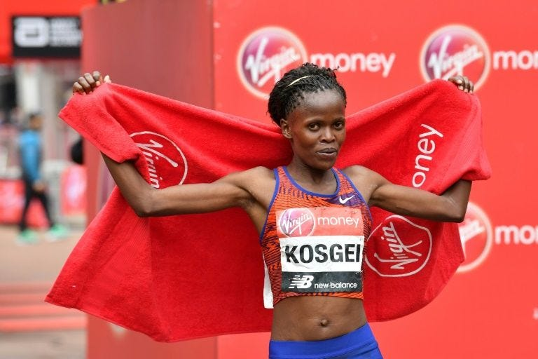Image result for brigid kosgei