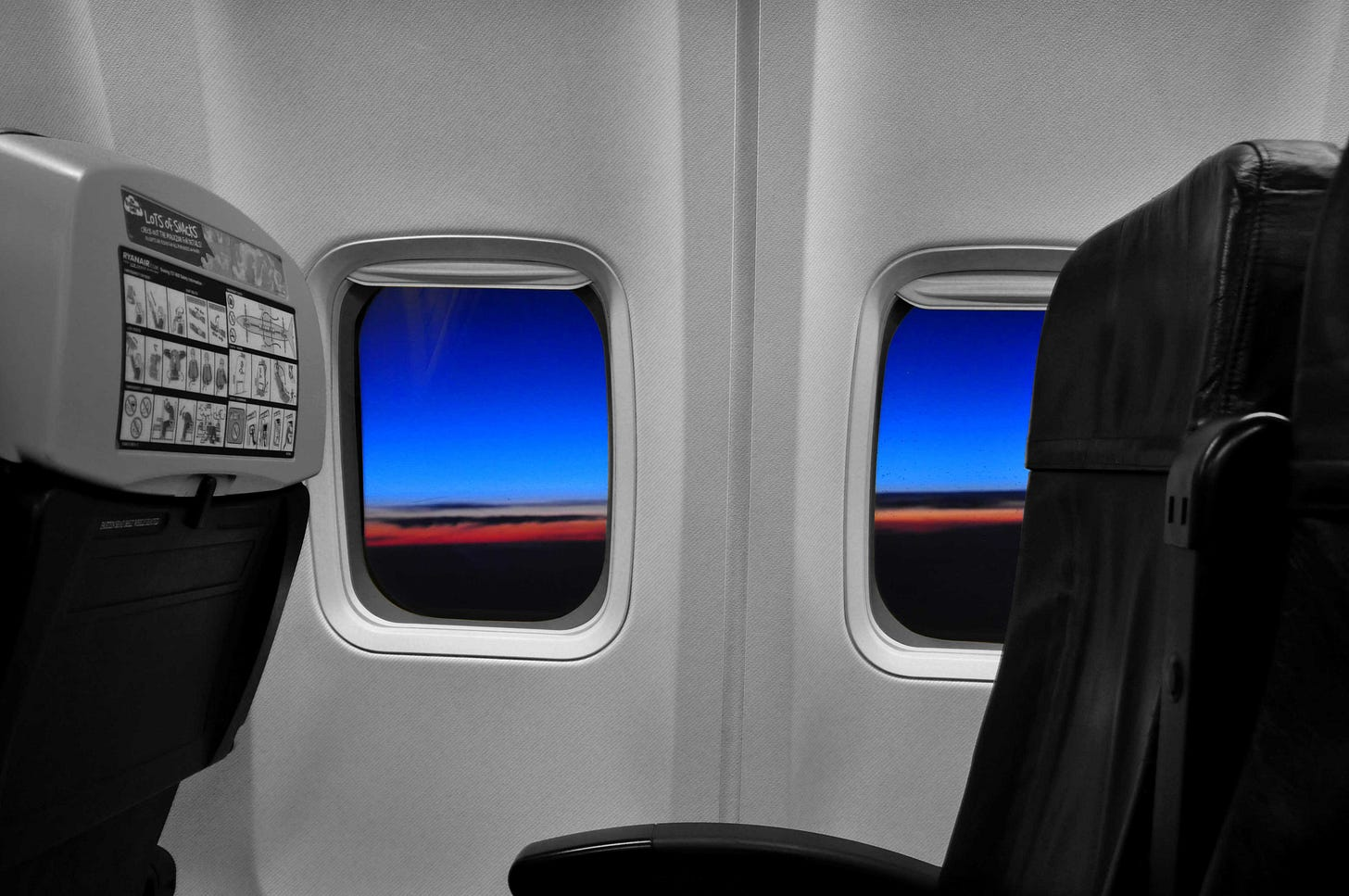 Airliner window
