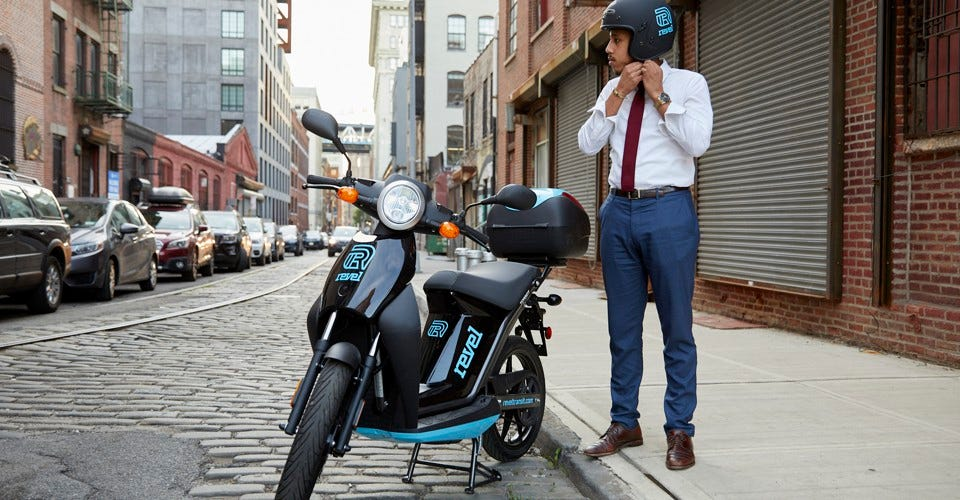 Image result for revel scooter