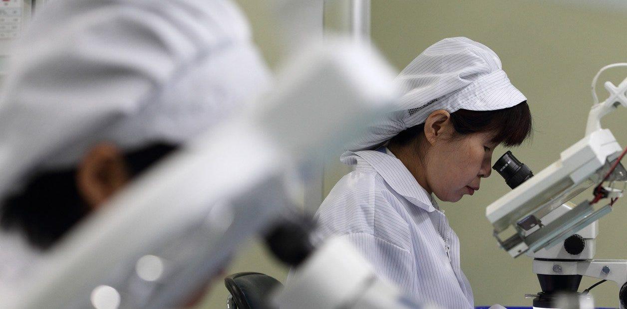 Resultado de imagen de surcoreanos trabajo