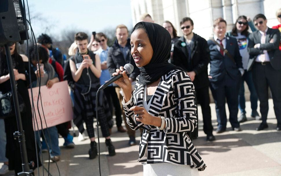 Rep. Ilhan Omar faced an uptick in death threats after President Donald Trump increased his rhetorical attacks against her.