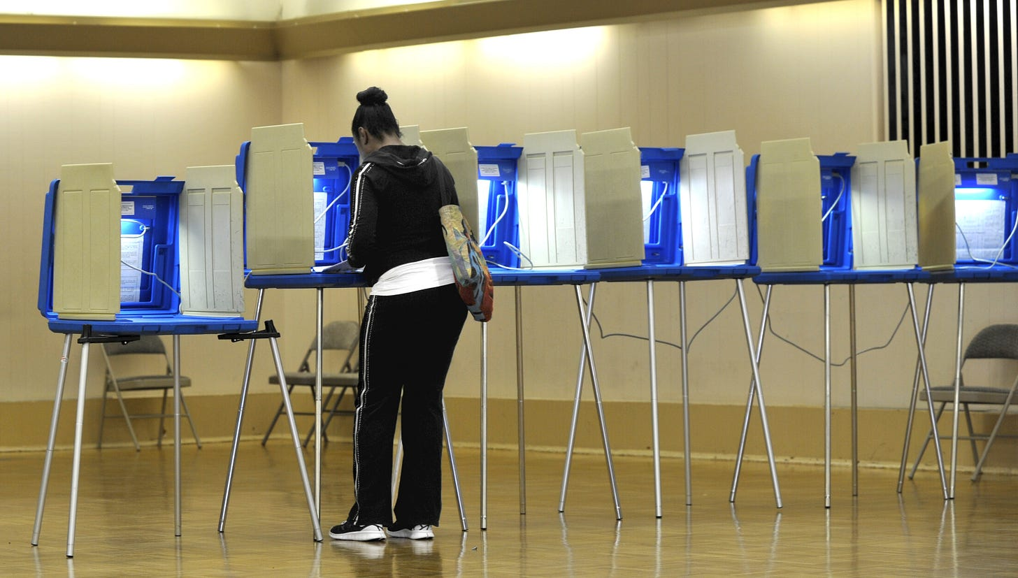 Image result for empty voting booths