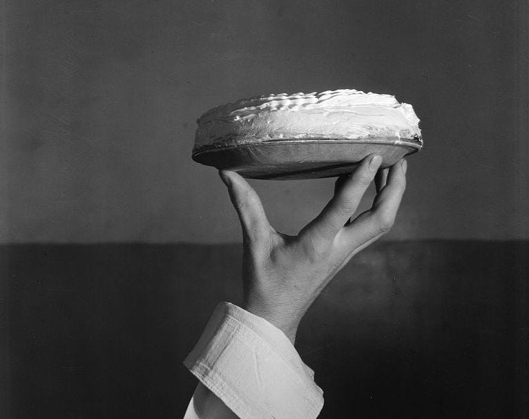 Monroe Boston Strause would reinvent the cream pie.