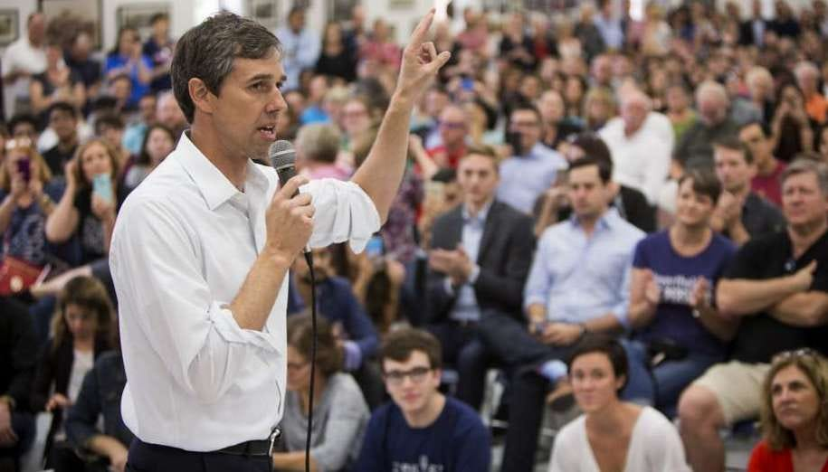Image result for Beto O'Rourke campaigning