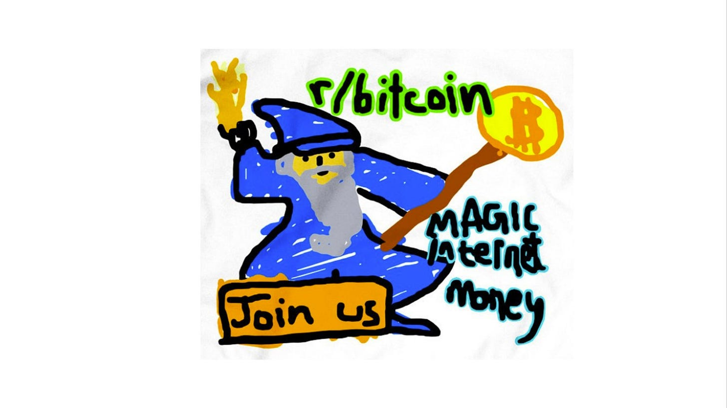 Image result for bitcoin magic