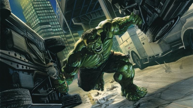 Image result for immortal hulk comic pages