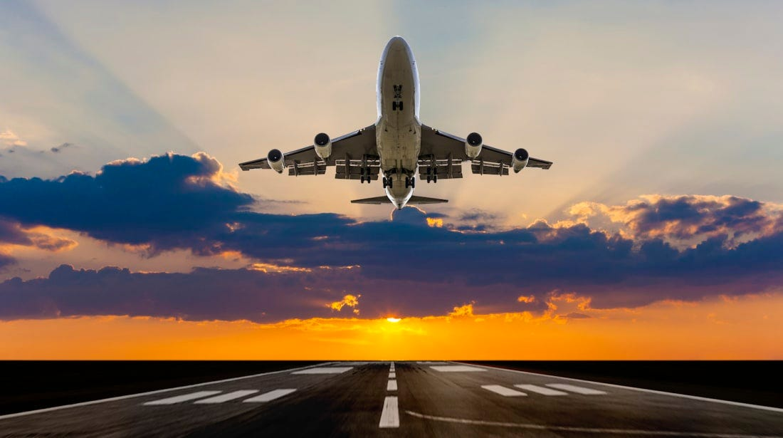 Image result for airplane taking off