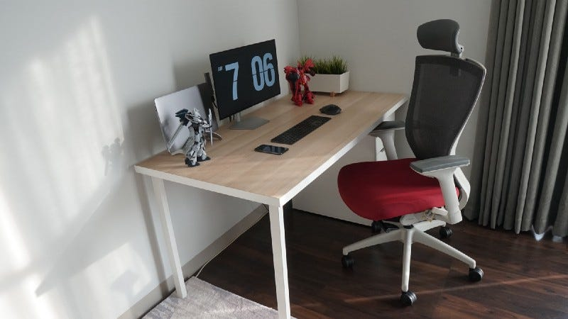 Desk chair at home office