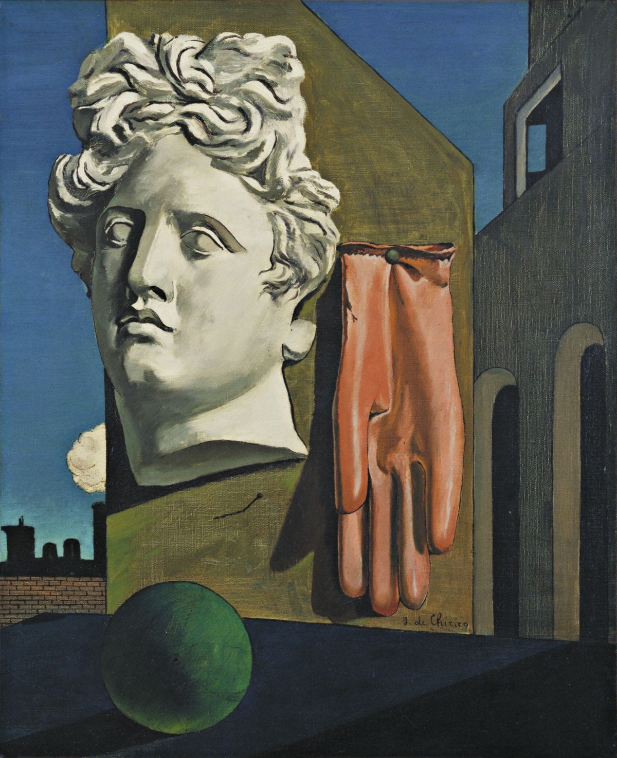 Image result for de chirico different periods