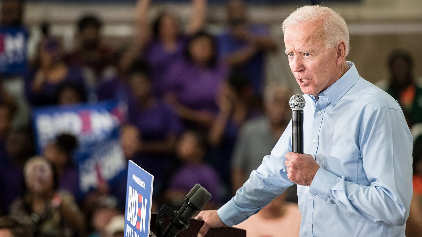 Image result for Biden With Trump gone, you're going to begin to see things change. Because these folks know better. They know this isn't what they're supposed to be doing. …