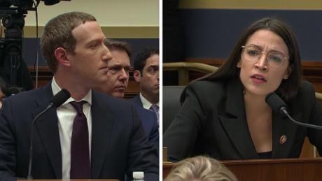 """Image result for cnn ocasio cortez facebook zuckerberg ads"""""""