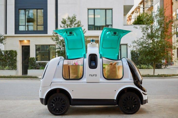 nuro R2 delivery bot