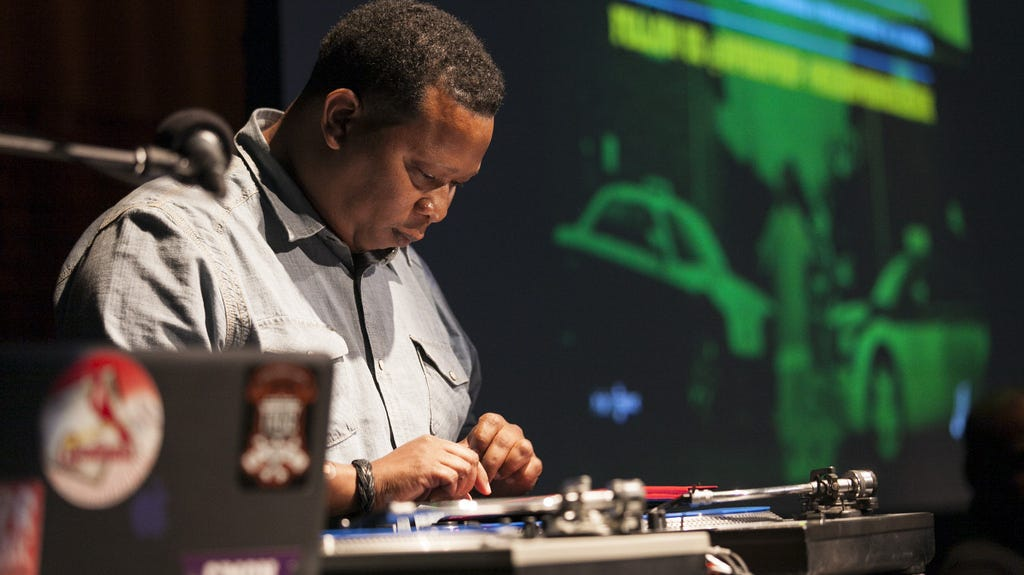 Image result for mannie fresh microphone check