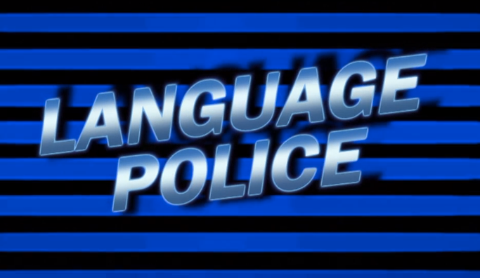 Image result for language police