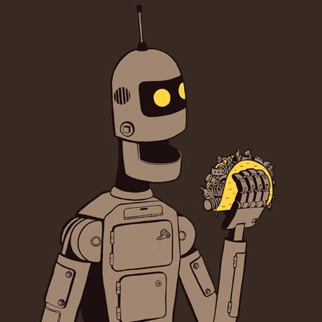 Image result for ttp://www.tshirtvortex.net/wp-content/uploads/Robot-Tacos-T-Shirt-sq.jpg