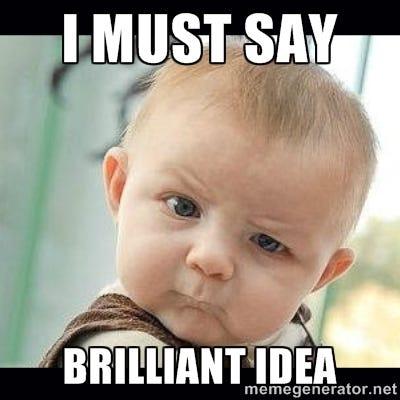 BRILLIANT MEMES image memes at relatably.com
