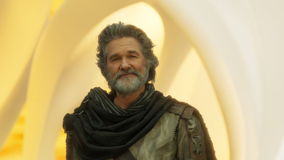 Image result for ego the living planet kurt russell