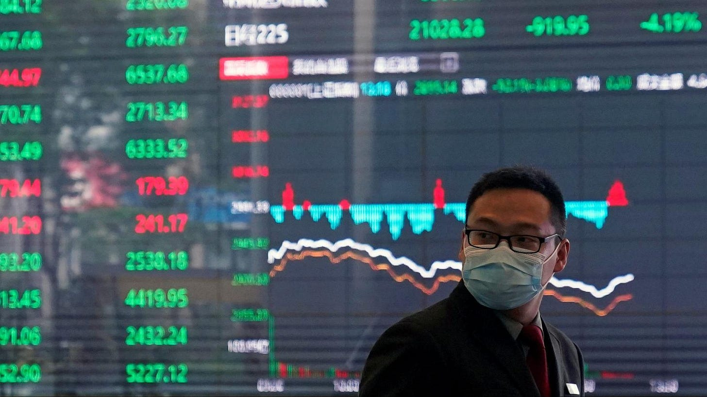 Image result for coronavirus stock market