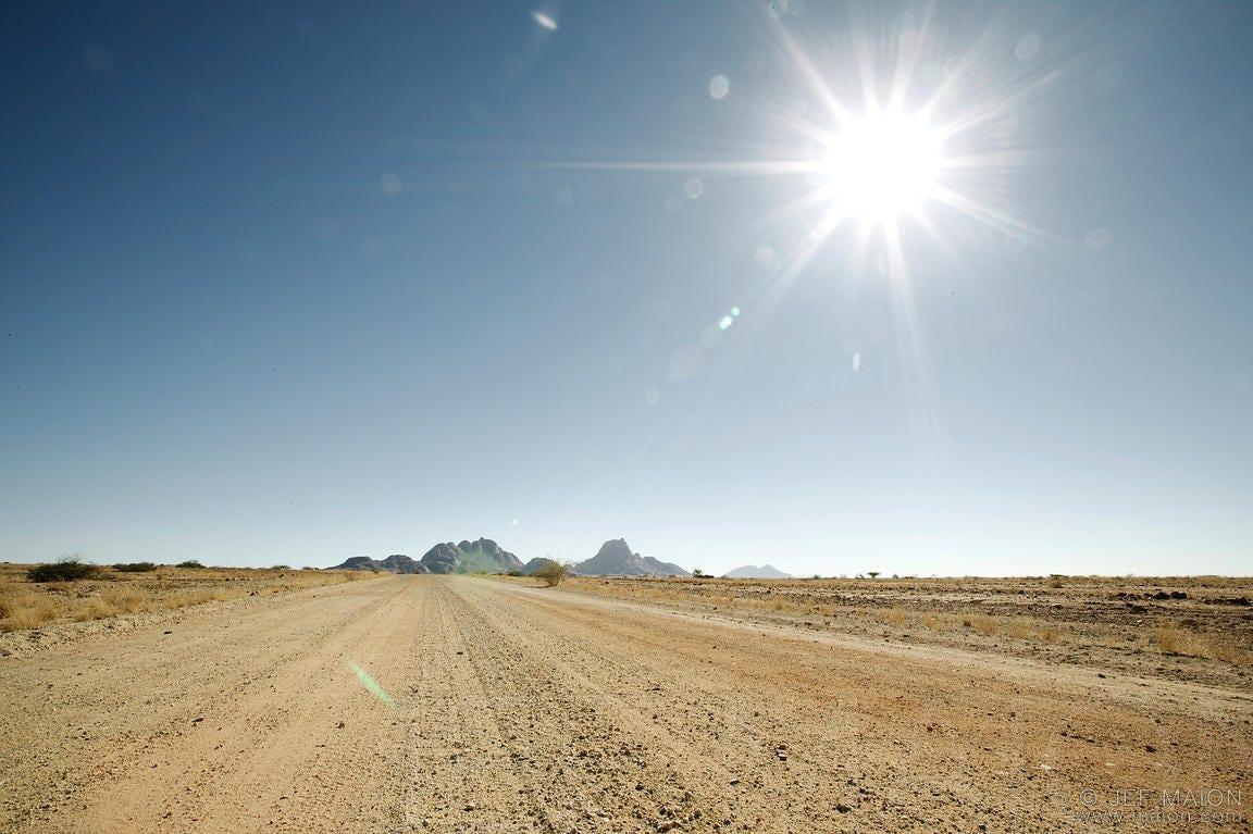 Image result for hot sun over desert