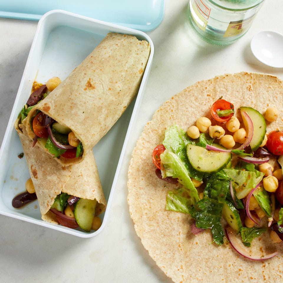 lunch wraps for healthy eating