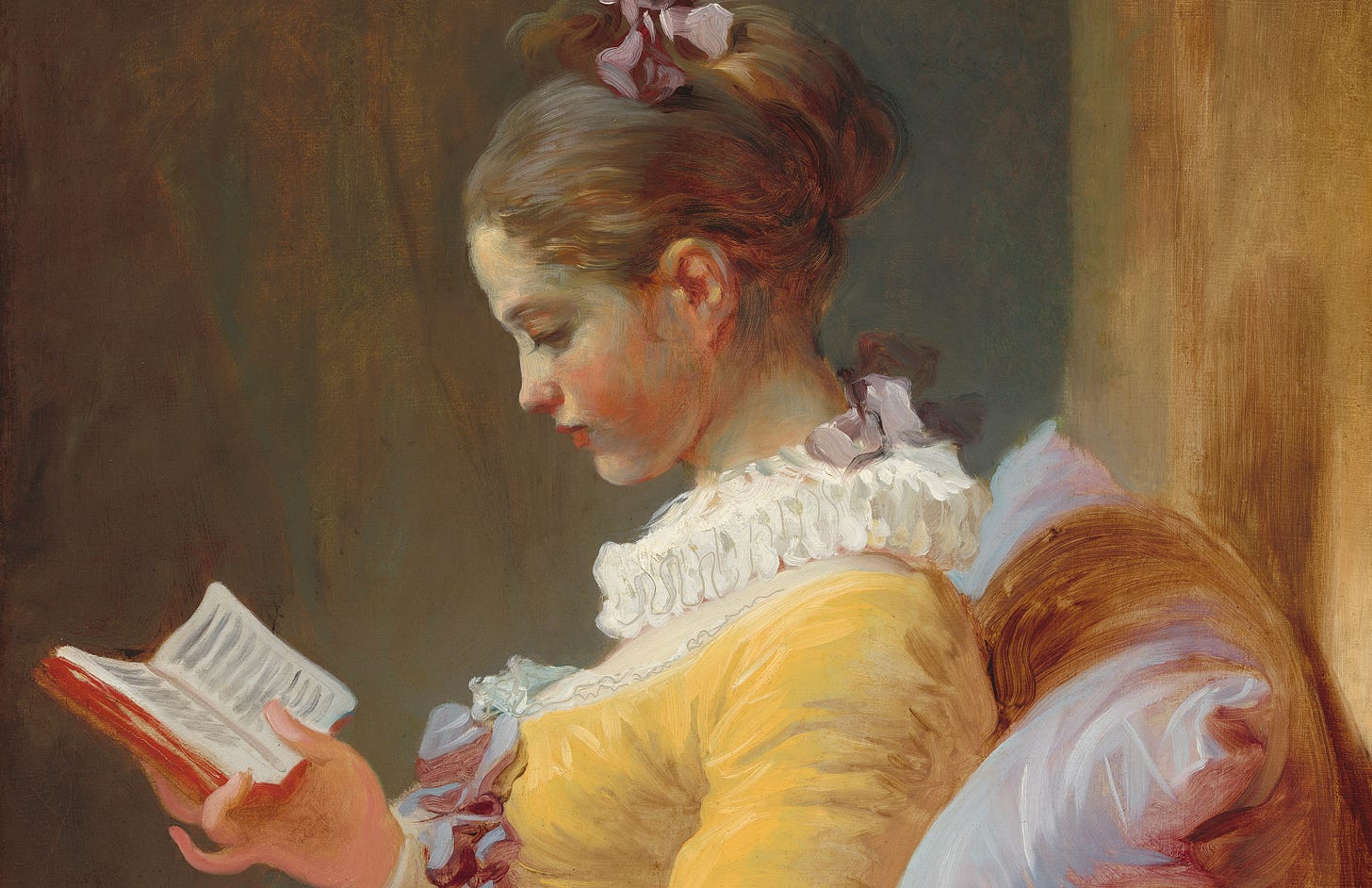 Young Girl Reading by Fragonard c 1770 © Wikimedia commons