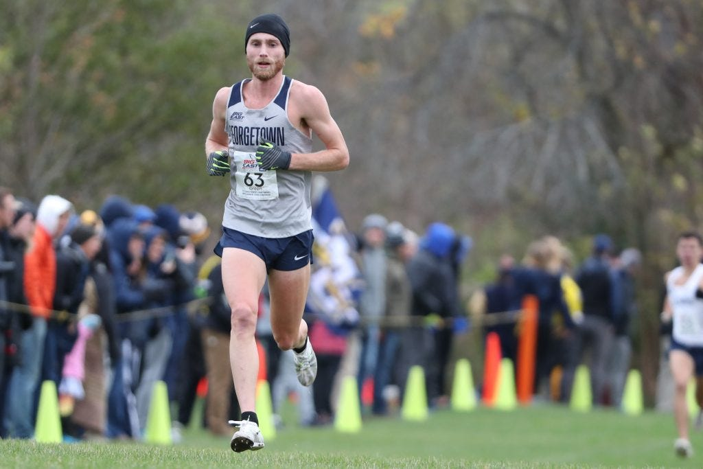 Green Machine: The Fastest Men's Cross Country Runner in the Big East