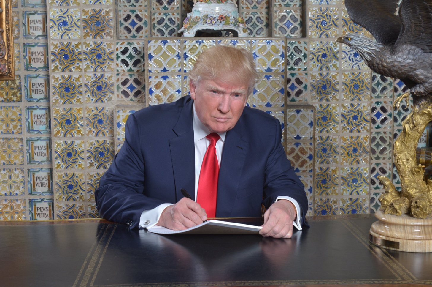 Image result for trump writing