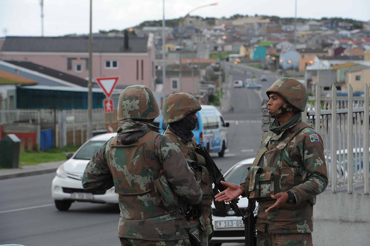 Image result for lockdown south africa army