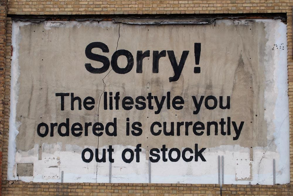 Sorry! The lifestyle you ordered is currently out of stock… | Flickr