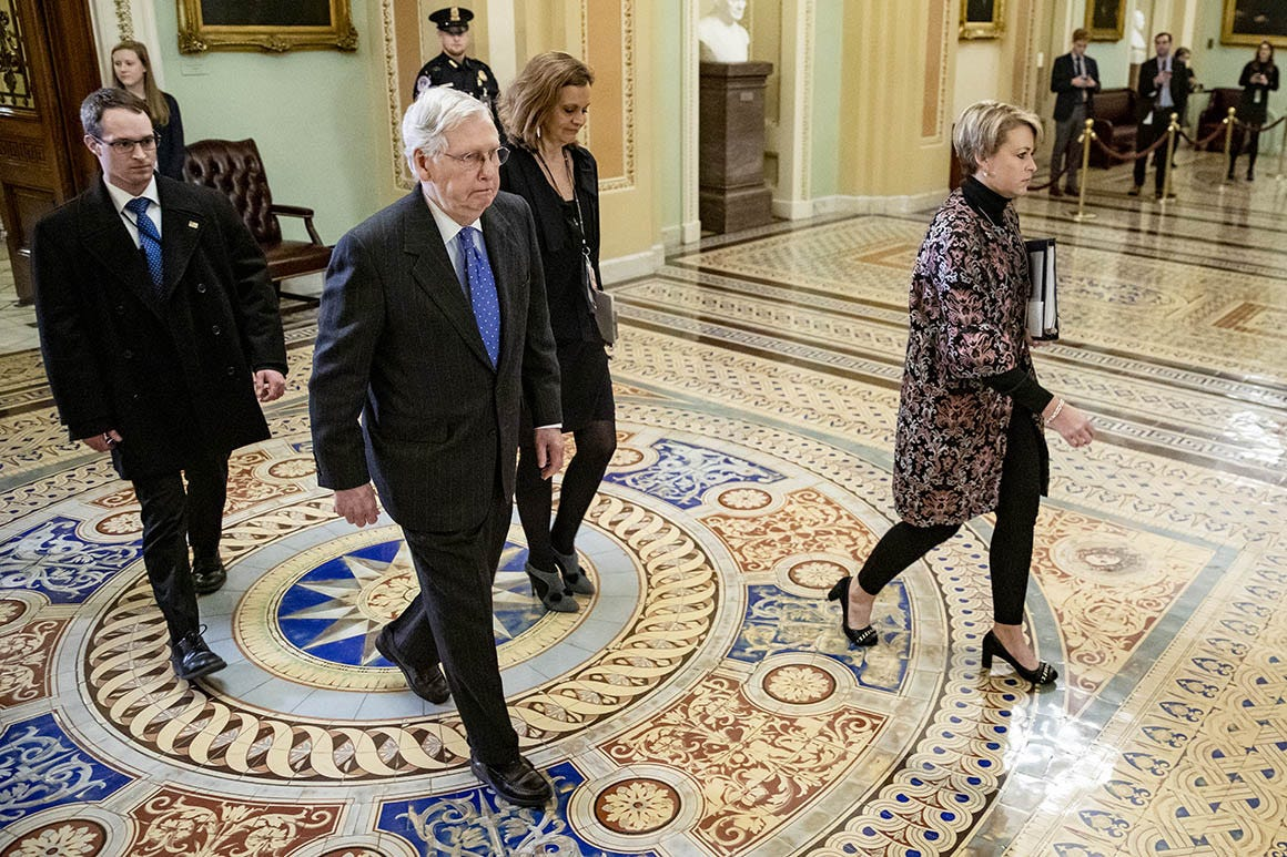 Image result for senate impeachment trial