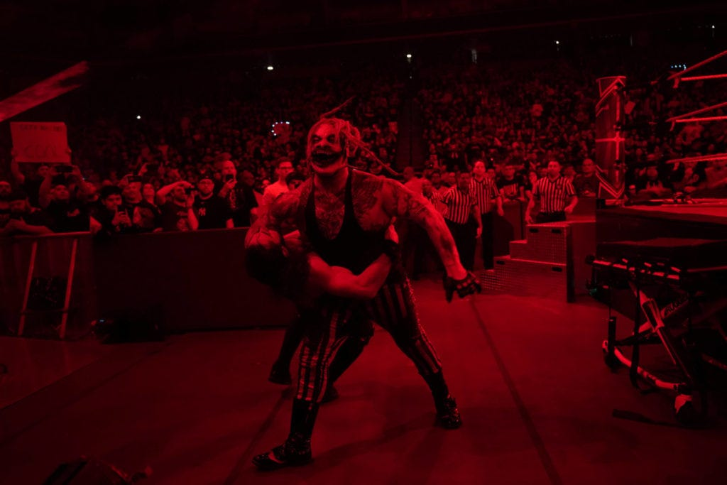 """The Fiend"" Bray Wyatt bei WWE Hell in a Cell 2019 (Foto: (c) 2019 WWE. All Rights Reserved)"