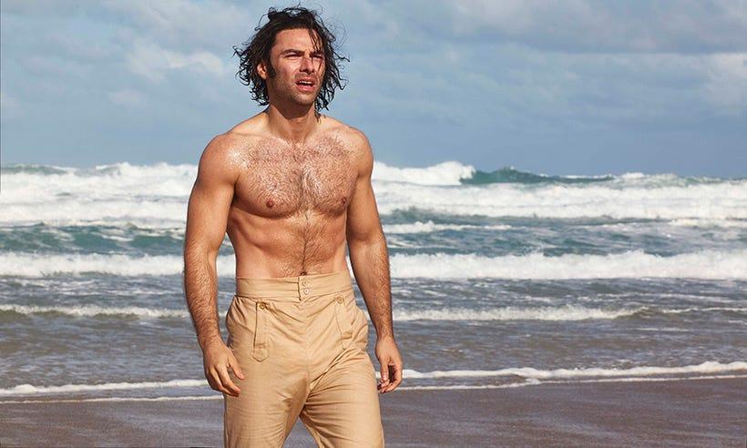 Image result for poldark aidan turner shirtless