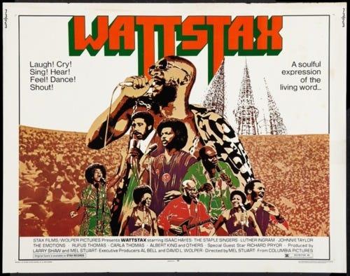 Wattstax (1973), Black Pride, and Good Music | The Cinephiliac