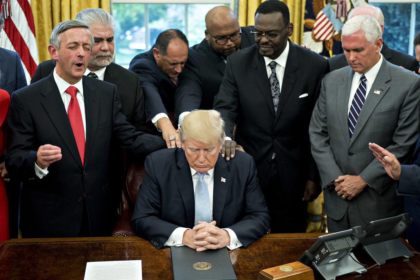 Image result for Trump evangelicals